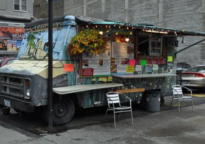 Food truck in Portland, Oregon.