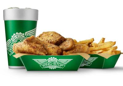 Wingstop Lunch Combo