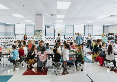 Sweetgreen promotes school health and nutrition through nonprofit partner.