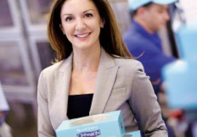 Cinnabon president Kat Cole is one woman who has risen the fast food ranks.