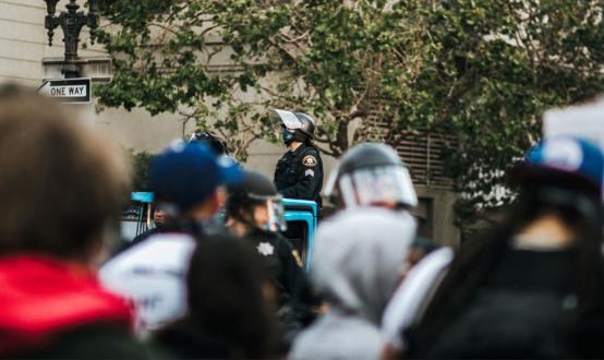 Cap amid protests.
