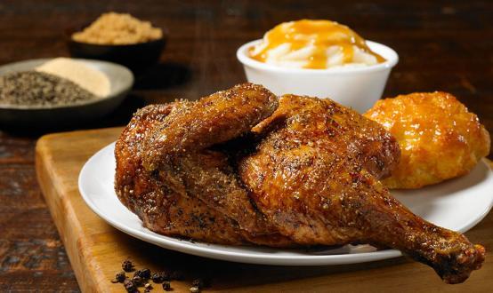 Church's Chicken's Bourbon Black Pepper Smokehouse Chicken.