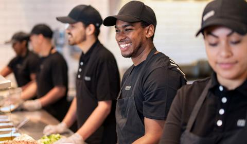 Chipotle crew employees.