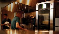 High-tech kitchen equipment can make training simpler.