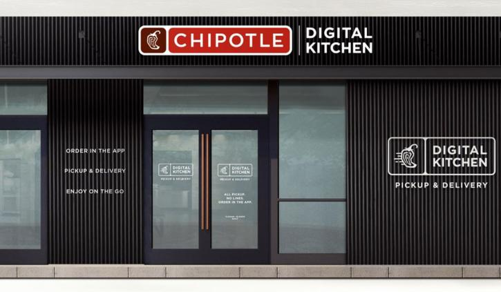 Chipotle digital-only restaurant rendering.