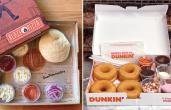 Blaze Pizza and Dunkin' DIY meal kits