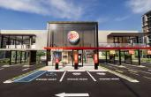Burger King restaurant of the future rendering.