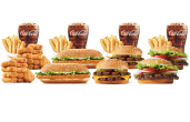 Food from Burger King.
