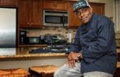 Coolio with White Castle apparel.
