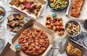 Domino's mix and match deal.