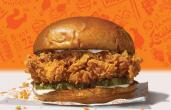 An image of Popeyes' Chicken Sandwich.