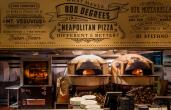 800 Degrees uses specially designed woodfired stone hearth pizza ovens.