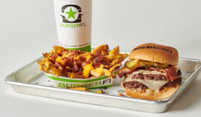 BurgerFi Baconian burger.