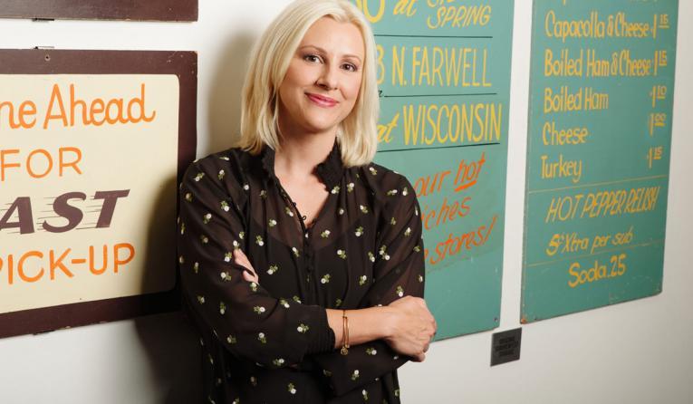 Cousins Subs' CEO Christine Specht.