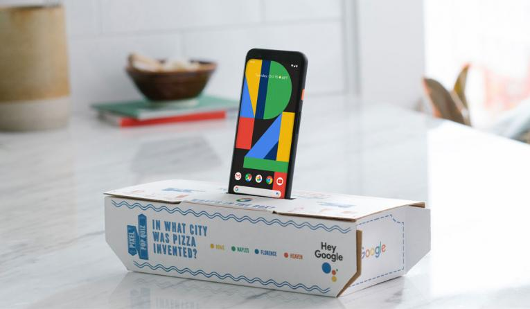 Domino's and Google partnership.