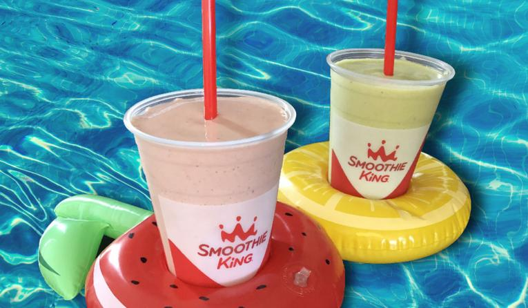 Smoothie King smoothies.