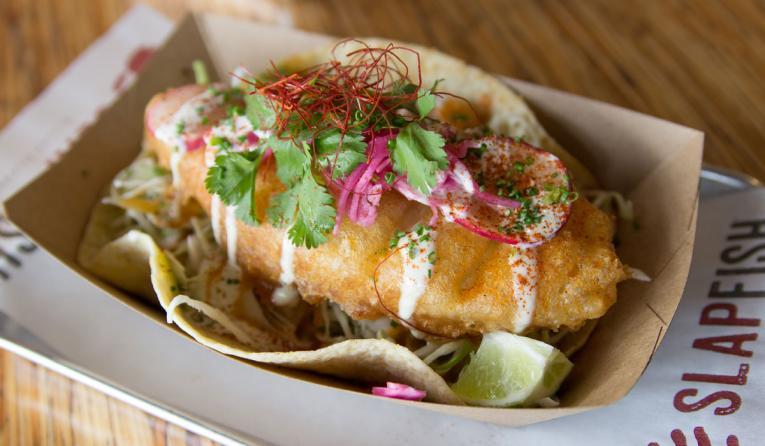 Slapfish tacos.