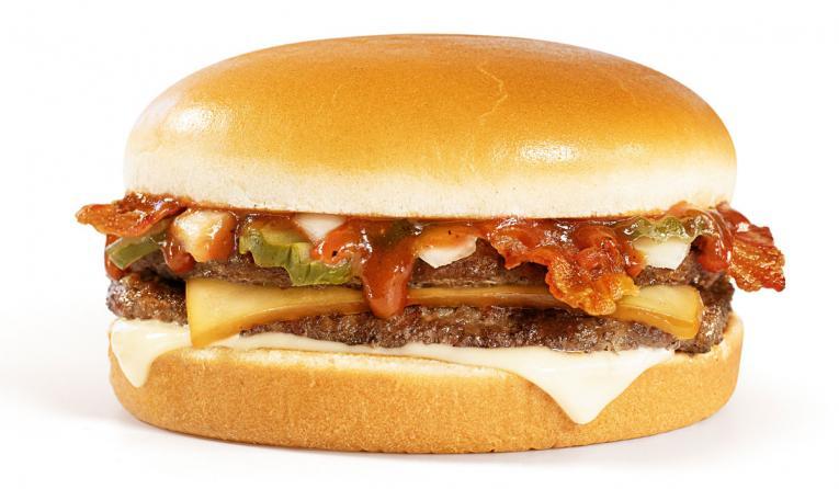 Whataburger BBQ Bacon Burger.