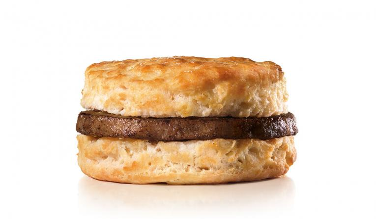 Hardee's sausage biscuit