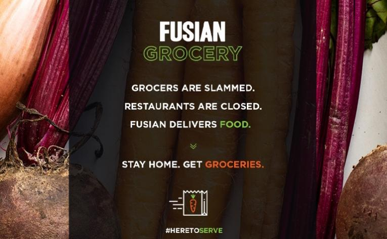 Ohio sushi chain launches grocery delivery service during coronavirus outbreak.