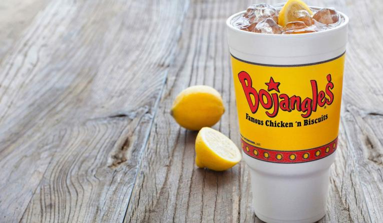 Bojangles' sweet tea.