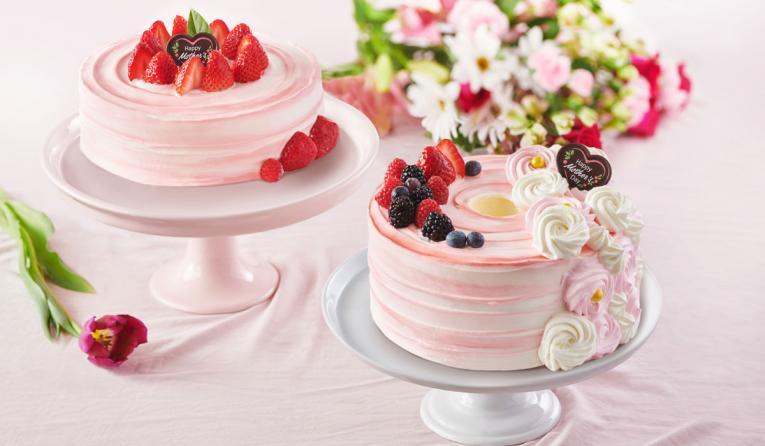 Paris Baguette Mother's Day cakes.