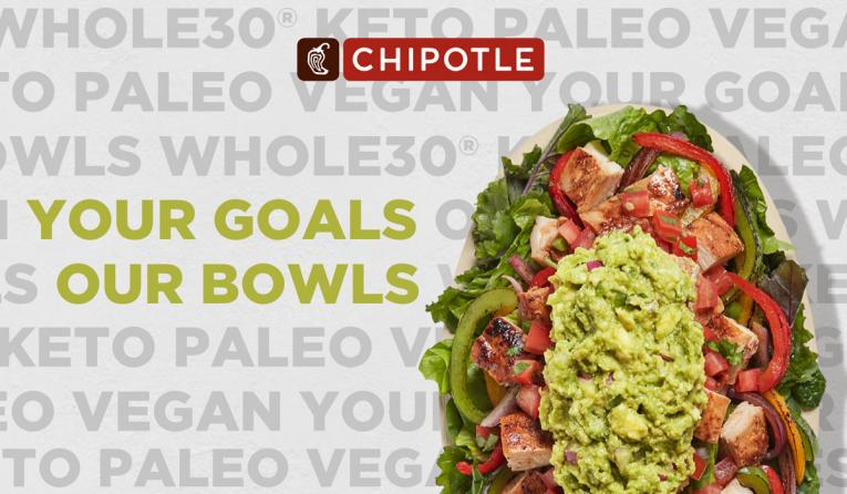 Chipotle Lifestyle Bowls.