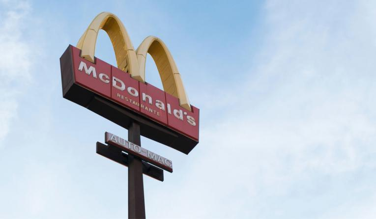 McDonald's Golden Arches.