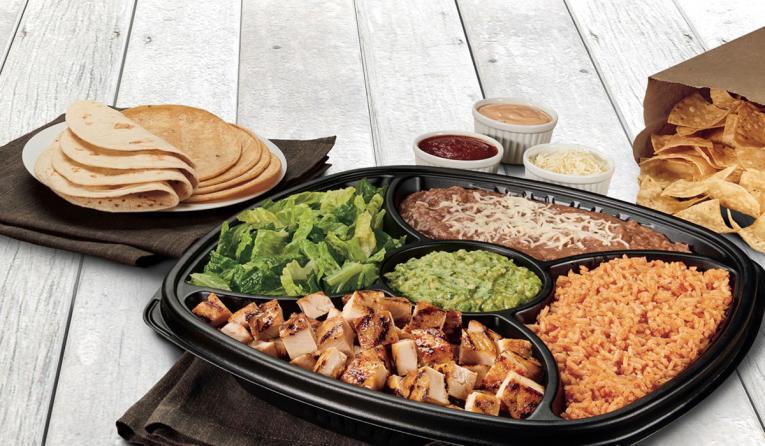 Rubio's Coastal Grill taco kits.