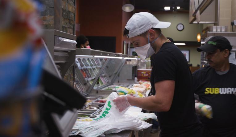 Subway franchisee Jeff Kaplow.