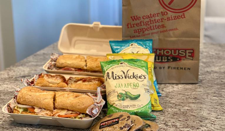 Firehouse Subs meal deal.