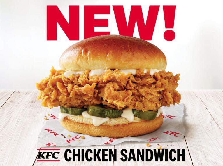 KFC Chicken Sandwich.