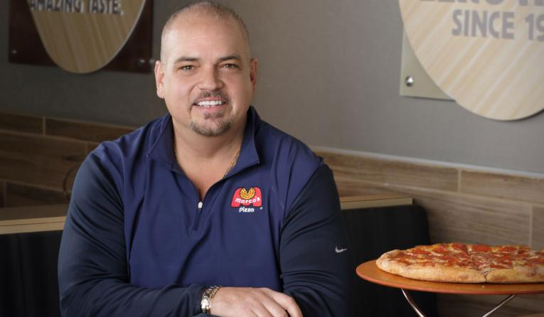 Marco's Pizza president and COO Tony Libardi.