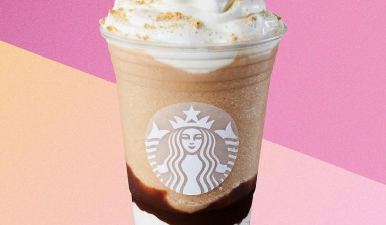 Starbucks S'mores Frappuccino Blended Beverage.