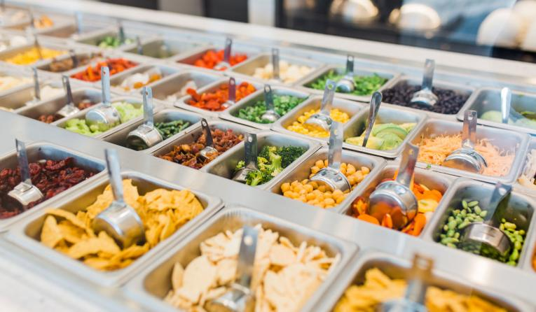 Chopt interior food assembly.