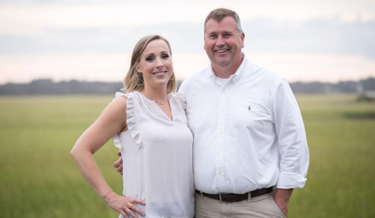 Potbelly franchisees Brent and Michele Brouse.
