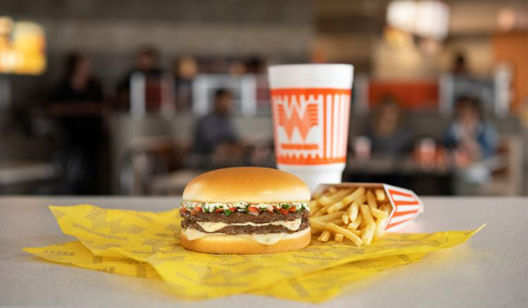 Whataburger Pico de Gallo Burger.