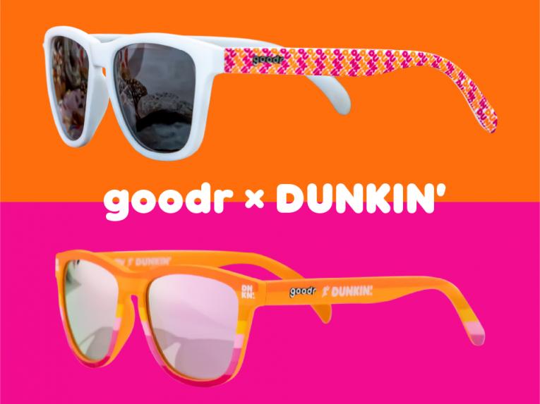 Dunkin' sunglasses.