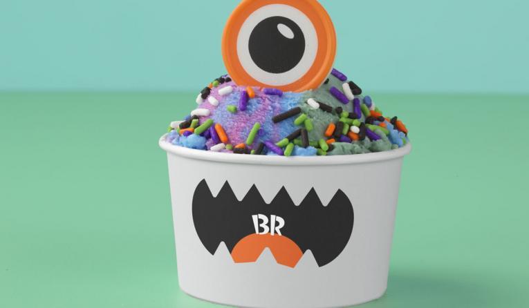 Baskin-Robbins creature creations cup.