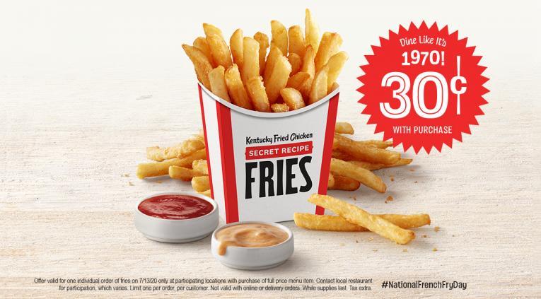 KFC fries.