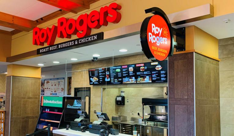 Roy Rogers travel plaza.