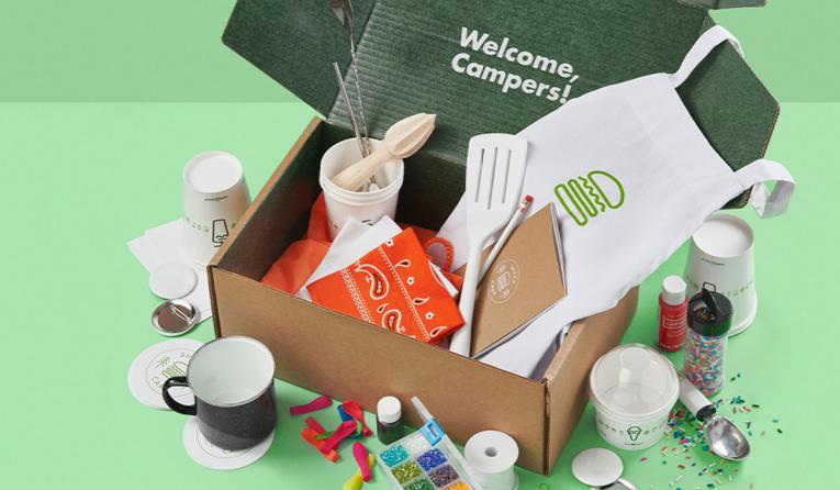 Shake Shack Shake Camp box.