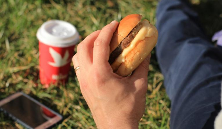 Wawa breakfast sandwich.