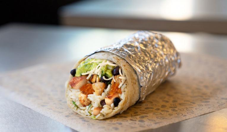Chipotle Tony Hawk burrito.