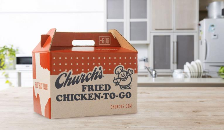 Church's Chicken Go Box.