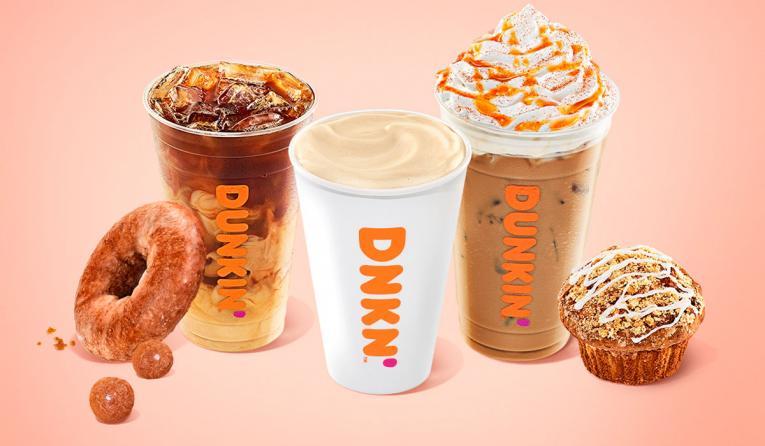 Dunkin' fall menu lineup.