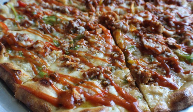 Pizza Jeans pizza pie.