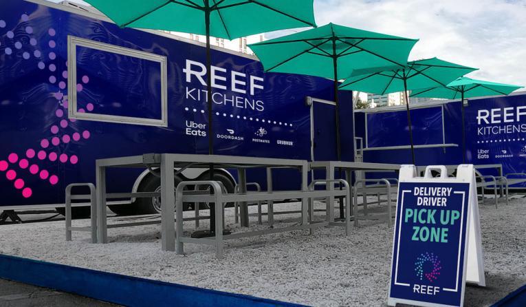 REEF Technology kitchen.