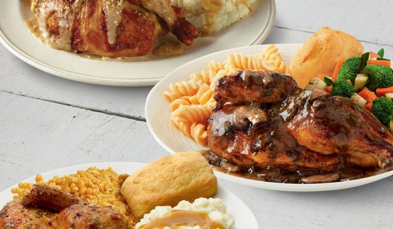 Just in time for fall, Boston Market invites guests to take comfort in the familiar with the return of three guest favorites Chicken Marsala, Tuscan Chicken and Roasted Garlic & Herb Chicken. Available nationwide for a limited time.