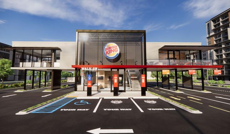 """""""Restaurant of Tomorrow"""", sebuah proyek terbaru dari Burger King yang memiliki beberapa fitur canggih"""